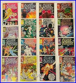 162 Silver Surfer Vol 3 #1-145 Set + Ann #1-7 + Minis (1987-1998) 34 44 45 82 83