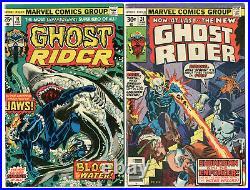 1973 Vol. 1 Ghost Rider 1-81 Complete Set Run VG/F-F/VF 1st Daimon Hellstrom 2