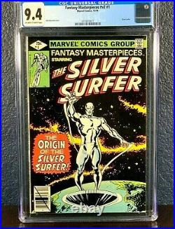 1st Issue Lot SILVER SURFER 1 cgc ss 4.0 9.4 9.6 1968 1979 1987 Series Vol 1 2 3