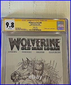 9.8 CGC Wolverine (Vol. 3) #66Michael Turner Sketch Variant SS Mark Millar