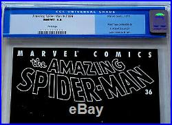 AMAZING SPIDER-MAN #36 Vol. 2 CGC 9.8 NM Marvel 2001 White Pages 9/11 WTC Story