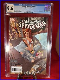 AMAZING SPIDER-MAN (Vol. 1) #601 Campbell Cover CGC 9.6 Spidey Label 2036767006