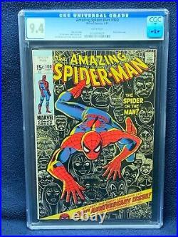 Amazing Spider-Man #100 Vol 1 Comic Book CGC 9.4