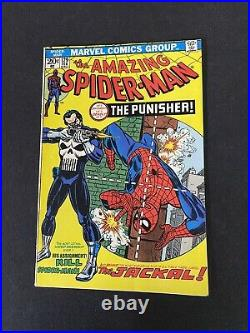 Amazing Spider-Man #129 Vol 1 Beautiful 1974 1st App of the Punisher