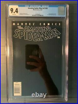 Amazing Spider-Man 2001 vol2 #36 CGC 9.4 NM Newsstand! Classic 9/11 Issue