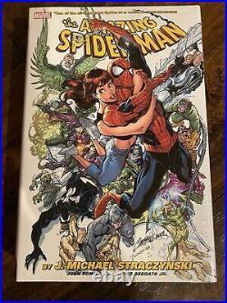 Amazing Spider-Man Omnibus Vol 1 JMS Straczynski HC Hardcover Marvel OOP Sealed