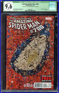 Amazing Spider-Man Vol # 1 # 700 CGC 9.6 Marvel Signed by Stan Lee DF 36/75