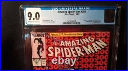 Amazing Spider-Man Vol 1 Issue #300 (25TH ANNIVERSARY CGC 9.0) by Comic Blink