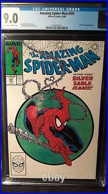 Amazing Spider-Man Vol 1 Issue #301 (Slabbed CGC Grade 9.0) by Comic Blink