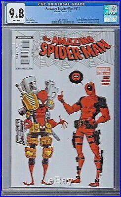 Amazing Spider-Man Vol #1 Issue # 611 CGC 9.8 Marvel Deadpool Skottie Young