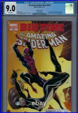 Amazing Spider-Man Vol 2 648 Variant CGC 9.0 W