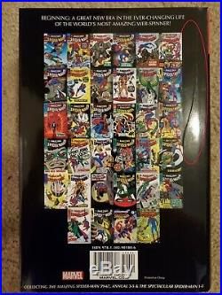 Amazing Spider-Man Vol. 2 Omnibus Marvel Stan Lee RARE OOP Hardcover