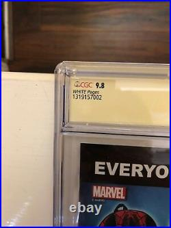 Amazing Spider-Man Vol # 3 # 1.4 Campbell Sketch Cover 9.8 CGC SS