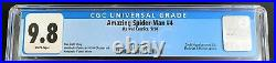 Amazing Spider-Man, Vol. 3 (2014) Issue 4A CGC 9.8 Near Mint/Mint 1st App Sil