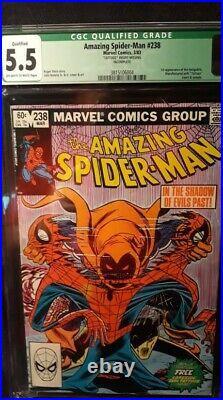 Amazing Spider-Man Volume 1 Issue #238 (1st Hobgoblin CGC 5.5) by Comic Blink