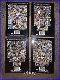 Amazing spider-man omnibus vol 1 2 3 4 1-4 NM Hardcover marvel comics Set Lot