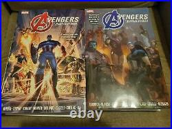 Avengers by Jonathan Hickman Omnibus Vol 1 & 2 Great Condition Marvel Comics