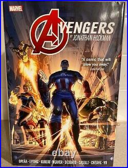 Avengers by Jonathan Hickman Omnibus, Vol. 1, Marvel, See Details, NEVER READ