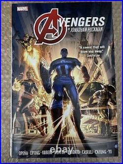 Avengers by Jonathan Hickman Omnibus Volume 1 & 2 Lot MARVEL NEW & SEALED OOP