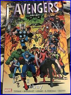 Avengers omnibus volume 4 used read one time marvel