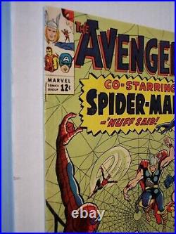 Avengers (vol. 1) #11 2nd Kang, Spider-Man guest stars! Approx VG/FN (5.0)