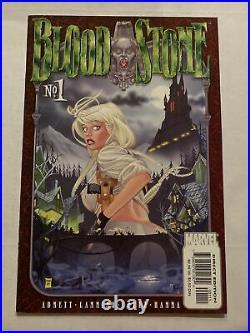 BLOODSTONE Vol 1 #1 1st Printing Elsa Bloodstone / 2001 Marvel Comics
