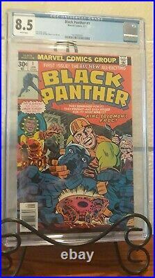 Black Panther Volume 1 Issue #1 (Slabbed CGC Grade 8.5) by Comic Blink
