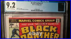 Black Panther Volume 1 Issue #1 (Slabbed CGC Grade 9.2) by Comic Blink