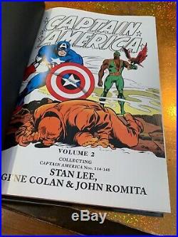 CAPTAIN AMERICA VOL #2 OMNIBUS HARDCOVER Marvel NF 1ST ED DJ VARIANT COVER HC