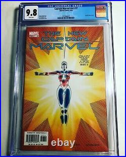 CGC 9.8 Captain Marvel vol. 4 #17 1st appearance of Phyla-Vell White Pages 2004