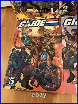 CLASSIC GI JOE Volume 1-8 2 3 4 5 6 7 TPB IDW Marvel Joe Hama Lot