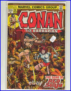 COMPLETE CONAN the BARBARIAN VOL. 1 ISSUES 1-275, ANNUALS 1-12, GIANT-SIZE 1-5