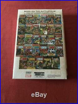 CONAN The Barbarian Marvel Years Omnibus Vol 1 DM variant BARRY SMITH NEW SEALED