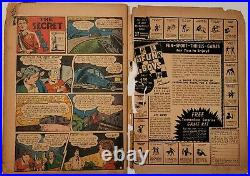 Captain America Comics Vol. 1 #22 Jan 1943 Marvel Complete LOW GRADE NICE