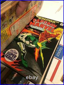 Captain Marvel 1 Thru 25 Silver Age Bound Volume Avengers Thanos Nm