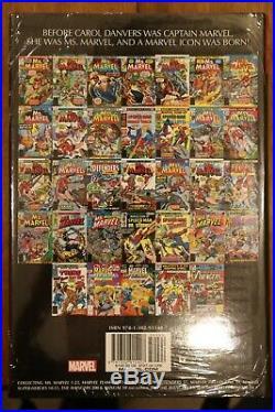 Captain Marvel Omnibus Volume 1 DM Variant Hardcover HC RARE OOP SEALED