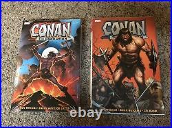 Conan The Barbarian 2 Omnibus Set Volume One & Two Original Marvel Years