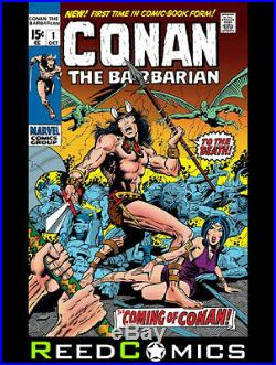 Conan The Barbarian Omnibus Volume 1 DM Barry Windsor-smith Variant Hardcover