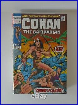 Conan The Barbarian Omnibus Volume 1 Hardcover HC Marvel Comics DM Variant Cover