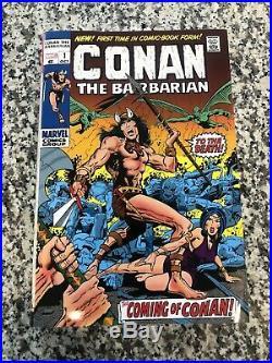 Conan The Barbarian Original Marvel Years Omnibus HC Vol 1 BWS DM Cover OOP RARE