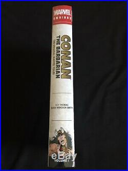 Conan The Barbarian Original Marvel Years Omnibus Vol 1 DM Variant (new Sealed)