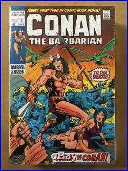 Conan The Barbarian Original Marvel Years Omnibus Volume 1 Variant- Sealed