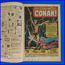 Conan the Barbarian # 1 Volume 1 (1970) Marvel Comic Book