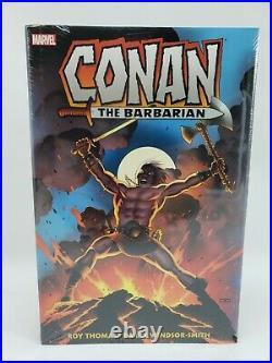 Conan the Barbarian Original Marvel Years Omnibus Vol 1 Sealed 9781302915124