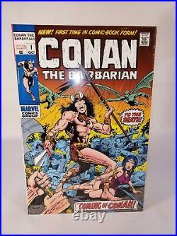 Conan the Barbarian Original Marvel Years Vol 1 Omnibus DM COVER HC Marvel