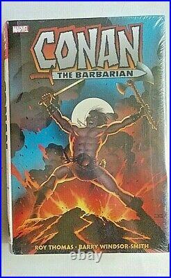 Conan the Barbarian SEALED Original Marvel Years Omnibus Vol. 1 2019 HARD COVER