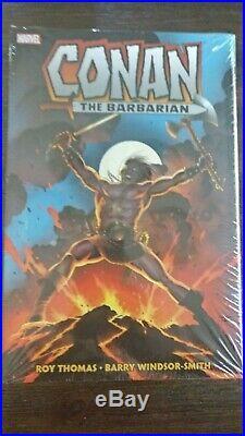 Conan the Barbarian The Original Marvel Years Omnibus Vol. 1 Sealed OOP HC Rare