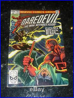 DAREDEVIL Comic Vol 1 No 168 Date 01/1981 MARVEL Comics