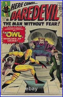 DAREDEVIL Vol. 1 #3 1964 VG 4 Stan Lee, Jack Kirby, Joe Orlando
