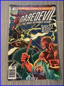 Daredevil #168 Vol 1 1st Appearance of Elektra Comic